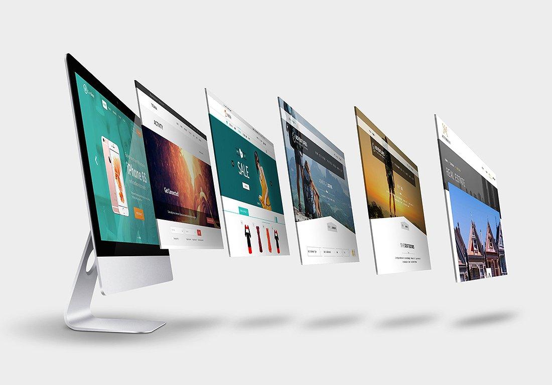 網頁設計師在盡量保持網頁設計足夠簡約整潔的同時,還會注入更多新鮮的創意。