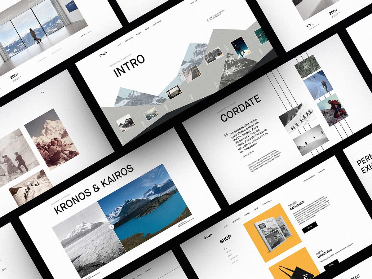 網頁設計領域中,設計趨勢從來都不是為了設計而誕生的