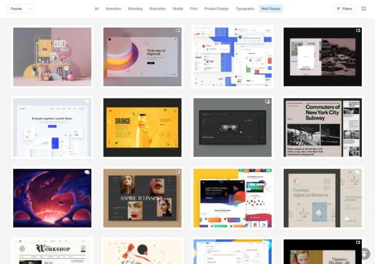 用一篇文章,帶你了解12種常見的網頁佈局設計